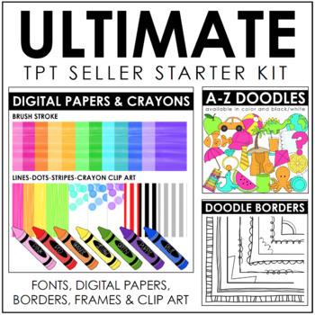 Ultimate TPT Seller Starter Kit