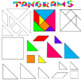 Ultimate Tangram Clipart Set