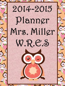 Ultimate Teacher 2014-2015 Planner - Beautiful Owl Theme (Common Core Inc.)