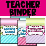 Ultimate Teacher Binder - GROWING FREEBIE