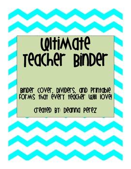 Ultimate Teacher Binder Organization