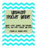Ultimate Teacher Binder Organization