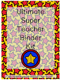 Superhero Themed Binder Organization [FREEBIE]