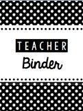 Ultimate Teacher Binder for Secondary Teachers--Editable & Ready to Print