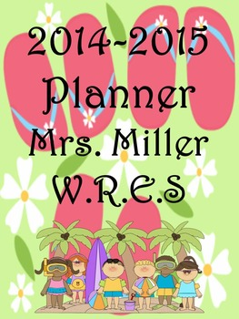 Ultimate Teacher Flip Flop 2014-2015 Planner - Common Core