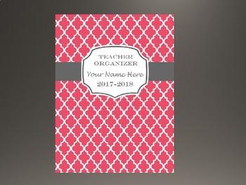 Ultimate Teacher Organizer- Dark Pink Cover