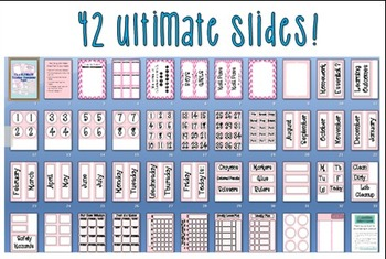 Ultimate Teacher Organizing Pack (Pink)