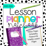 Teacher Lesson Planner {EDITABLE} 2018-2019 School Year