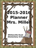 Ultimate Teacher Planner *NEW* Camping Theme 2015-2016  -