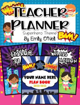 Ultimate Teacher Planner (Superhero Theme)