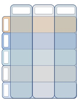 Ultimate Teacher Planner and Calendar---Sunset Colors