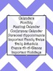 Ultimate Teacher Purple Chevron 2013-2014 Planner - Popular Design