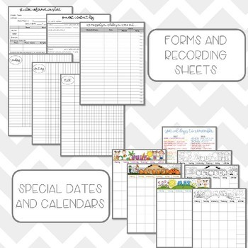 Teacher Planner and Binder - Editable!