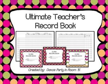 Ultimate Teacher's Record Book