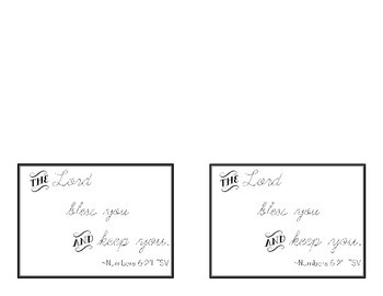 Thank You Cards: Bible & Saint Quotes with Fill in the Blank Cards
