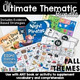 Ultimate Thematic Units for Speech Therapy: Growing Fall Bundle