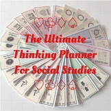 Ultimate Thinking Planner for Social Studies (Research Based Thinking Prompts)