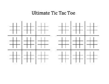 photo about Free Printable Tic Tac Toe Board identify Final Tic Tac Toe Printable and Guidance