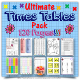 Ultimate Times Tables Pack - 120 Pages