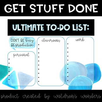 Ultimate To do list
