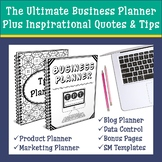 TpT Seller Business Planner | Blog & Social Media Planner | Data Tracker