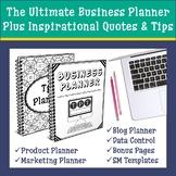 TpT Seller Business Planner   Blog & Social Media Planner