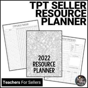 Ultimate TpT Seller Resource Planner