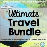 Travel Bundle (Passports, Boarding Passes, Travel Journals)