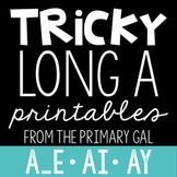 A_E, AI, AY Printables