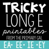 EA, EE, IE, Y Printables