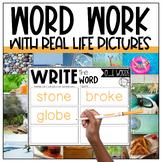 Long O Vowel Team Centers | OA, OW, OE, & O_E | Digital Le