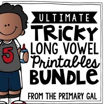 Long Vowel Word Work Printables! {BUNDLE}
