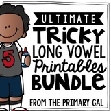 Long Vowel Word Work Printables! {BUNDLE}
