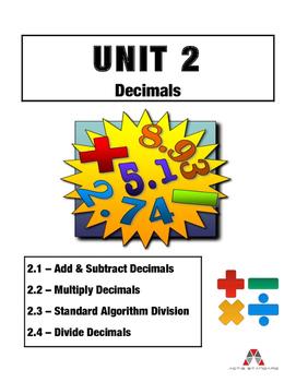 Ultimate Unit 2: Decimals
