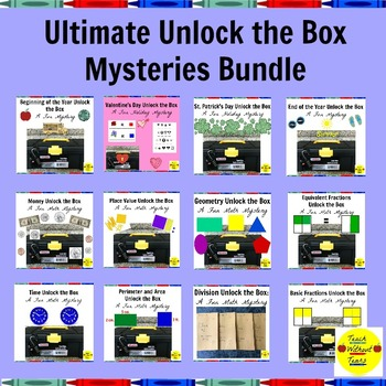 Ultimate Unlock the Box Mysteries Bundle