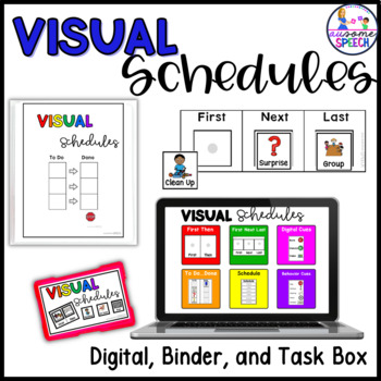 Ultimate Visual Schedule Set