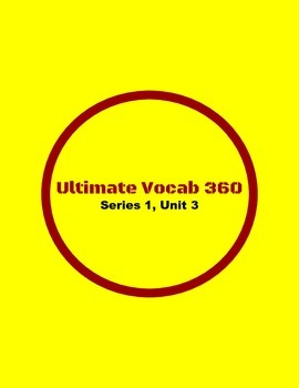 Ultimate Vocab 360: Series 1, Unit 3 (upper elementary)