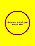 Ultimate Vocab 360: Series 1, Unit 3 (upper elementary)