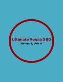 Ultimate Vocab 360: Series 1, Unit 5 (upper elementary)