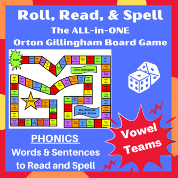 Vowel teams ai/ay, ee/ea, oi/oy,oa Orton word cards, sentences & games- lessons