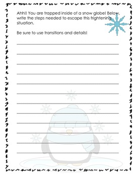 Ultimate Winter Writing Bundle CCSS Aligned (Grades 1-4)