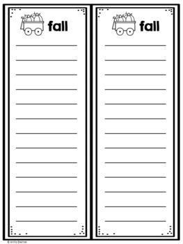 Writing Center: Writing Lists