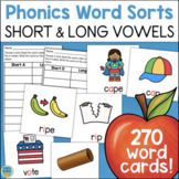 Word Sorts: Long and Short Vowels