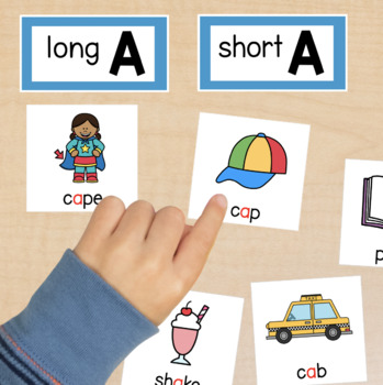 WORD SORTS Short and Long Vowels