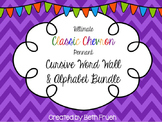 Word Wall Cursive Alphabet