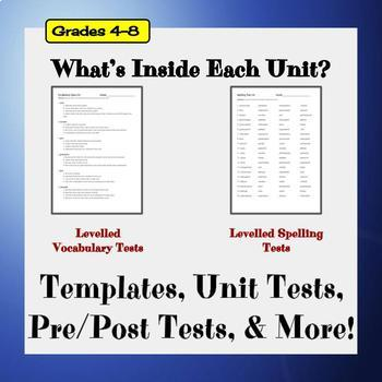 Ultimate Words - A Content-Based Spelling & Vocabulary Curriculum