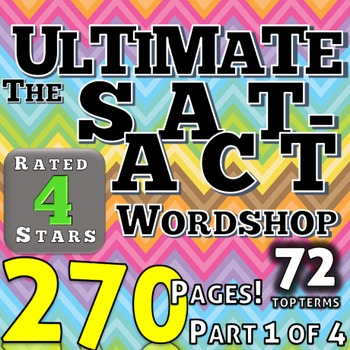 Ultimate Wordshop 3 Months SAT Vocabulary Critical Reading