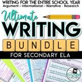Ultimate Writing Bundle - Secondary ELA Writing