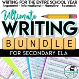 Ultimate Writing Bundle - Secondary ELA Writing