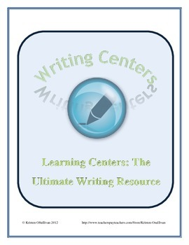 Ultimate Writing Center Resource: A Year of Centers